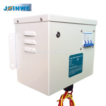 Metal Housing 3 Phase Power Saver System with Circuit Breaker