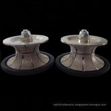 Hand Profile Wheel: Vacuum Brazed Hand Profile Wheel