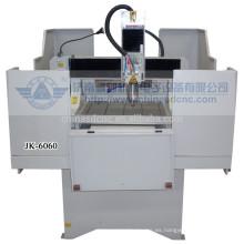 JK - 6060M alta precisión paso a paso de la máquina del grabado en metal