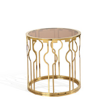 Originality stainless steel round side table