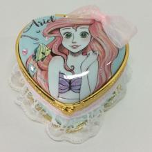 Коробка ювелирных изделий кружева мультфильма с липкой запиской
