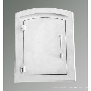 Moulage en aluminium Fournisseur Casting Mailbox Door