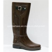 New Fashion Comfort Flat Lady Rain Boots for Women