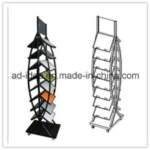 Modern Black Tile Display Stand/Quartz Custom Display Tower (MOR-311)