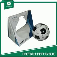 Weißer Karton gemacht Fußball-Display-Box