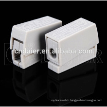 speaker wire connector types; spring loaded speaker terminals connectors; terminal block 2 pin