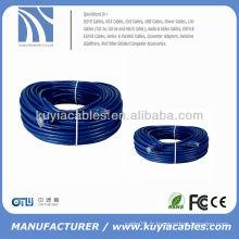 Câble de raccordement réseau 40M RJ45 Ethernet Câble de raccord bleu