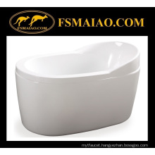 Special Price for Ellipse Acrylic Freestanding Soaking Bathtub (BA-8505B)