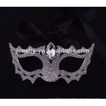 party supplies wholesale china crystal white mask for masquerade