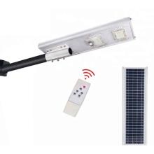 Умный светодиодный солнечный уличный фонарь IP65