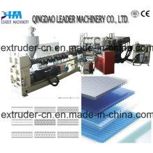 Máquina oca quente da grade plástica da venda PP / PE / PC / folha oca da grade que faz a máquina