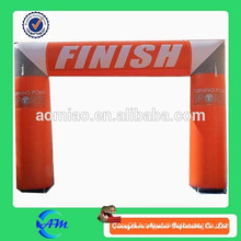 Outdoors race game inflatable arch for sale