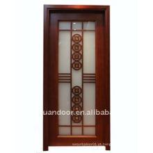 Porta luxuosa de madeira compensada