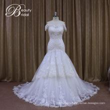 off Shoulder Real Wedding Dresses Samples