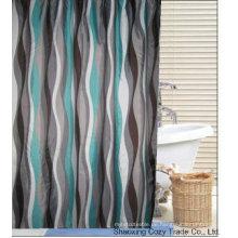 Beliebte Design Polyester Duschvorhang