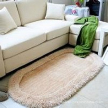 The Oval Stretch Yarn Thin Fiber Carpets and Rugs