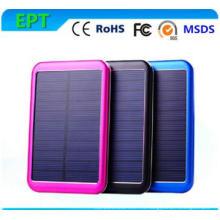 Cargador móvil solar de Alluminum del banco de la energía solar de 5000mAh
