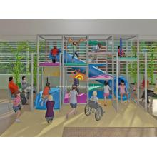 Новая детская игровая площадка для детей