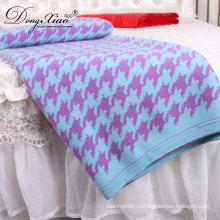 Дешевые Wholeslae Пакистан Пеленать Дизайн Кровать Шерсть Кашемир Бросить Одеяло