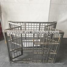 Grande cage de chat de cages de chien d'acier inoxydable à vendre