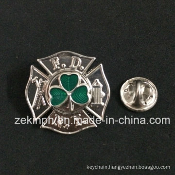 China Making Supplies Free Sample Transparent Color Lapel Pin Badge