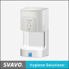Toilet Electroplating Warm Wind Hand Dryer V-182s with 1350W