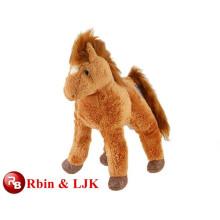 OEM soft ICTI plush toy factory plush toy horse stuffed animal toy