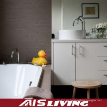 Armarios de baño de melamina con tocador espejo vanidad (AIS-B014)