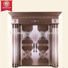 Fabrik Custom teuer Aussen Bronze Tür, Doppel-Swing Kupfer Tür