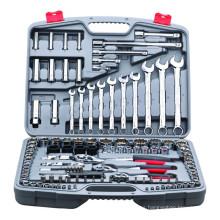 2015 herramienta profesional trolleProfessional tools set / 121pcs socket tool sets Conjunto de herramientas para el hogar