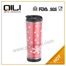 Inserte el papel plástico taza SGS