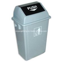 Пластиковые формы среднего размера мусорное ведро