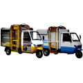 THANOS Electric tricycle Side-mounted bucket truck 800-2.5CG