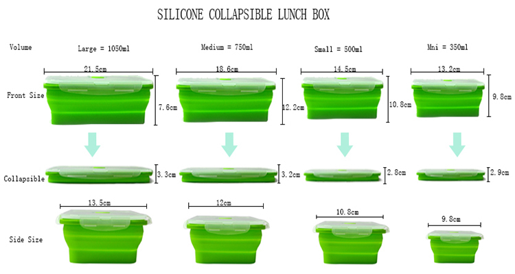 silicone Lunch box- (1)