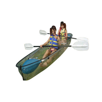 Kayak nouveau design en plastique polycarbonate transparent
