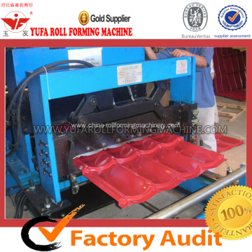 Popular Design 828 Glazed Tile Roll Forming Machine
