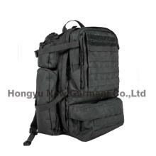 Большая сумка черного рюкзака военного назначения (HY-B096)
