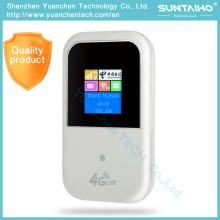 4G Lte WiFi Router Mobile Hotspot Car Mini Wi Fi Mini Wireless Pocket Wi-Fi Router con ranura para tarjeta SIM