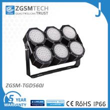 Éclairage de stade d'IP66 560W LED avec 112lm / W