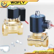 24v pneumático válvula solenóide de 1 polegada para irrigação