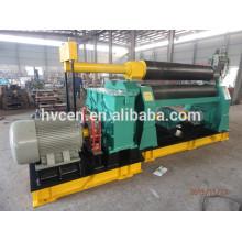 3-roller symmetrical plate rolling machine,three-roll plate rolling machine