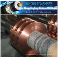 Ruban adhésif en feuille de cuivre pour câble coaxial
