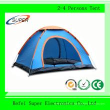 De alta qualidade ao ar livre 2-4 pessoa barraca de acampamento da família