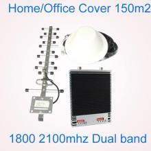 Repetidores de señal de doble banda Dcs1800 y 3G 2100MHz
