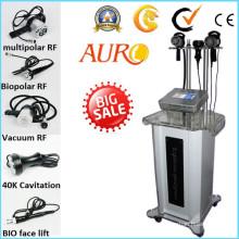 Precio de fábrica 40k cavitación rápida que adelgaza la máquina de la belleza de la radiofrecuencia