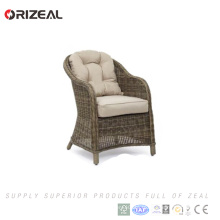 Le meilleur le sofa simple de rotin de meubles extérieurs bon marché a placé pour des meubles de restaurant