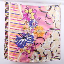 12 mm de seda de seda mano impresa bufanda al por mayor en China