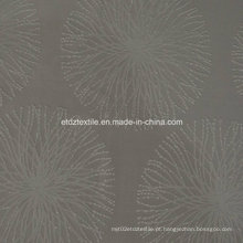 Bem venda Jacquaed cortina padrão de flores Wzq162-4