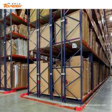 depósito de paletas de doble profundidad de acero para almacenamiento en almacenes