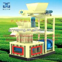 Machine de fabrication de pastilles et de sciure de bois Yugong populaire dans le marché d'outre-mer